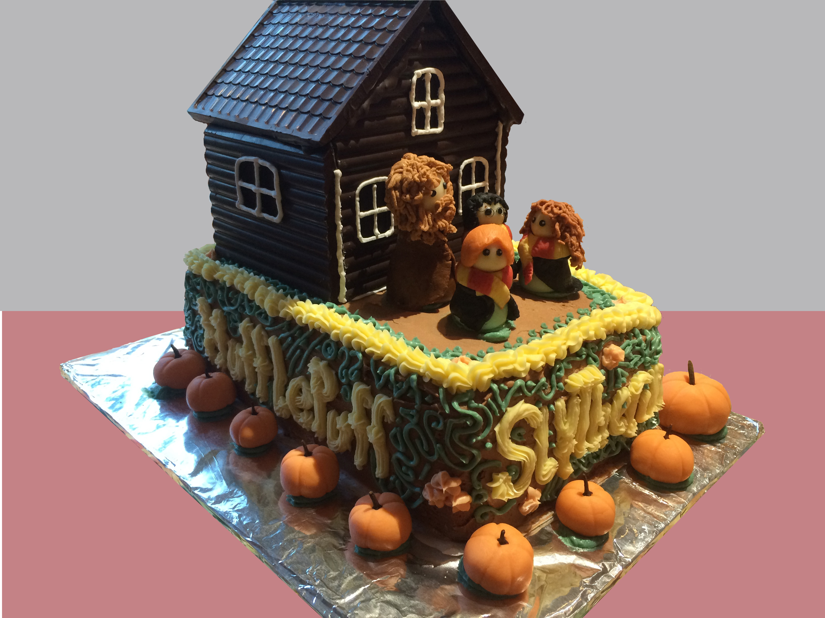 Hagrids Hut Cake Harry Potter Birthday Party Ideas And Instructions